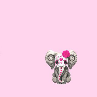 Обои на телефон сахар, череп, мертвый, день, sugarskull, sugar skull, pinkelephant, dial del muerto, day of the dead