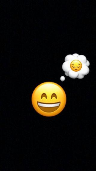 Обои на телефон настроение, черные, счастливые, смайлики, грустные, happy