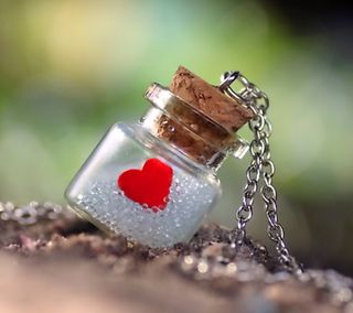 Обои на телефон love, heart in bottle, любовь, сердце, бутылка