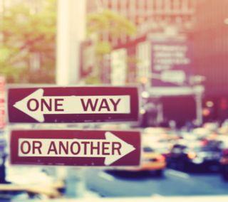 Обои на телефон улица, путь, знаки, one, another