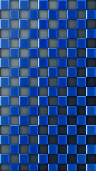 Обои на телефон квадраты, синие, абстрактные, 3д, 3d, 1080p