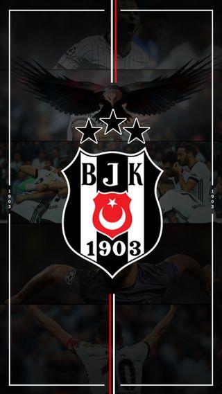 Обои на телефон чемпион, турецкие, супер, объектив, логотипы, бесикташ, takim, super lig, bjk, 3 yildiz, 1903