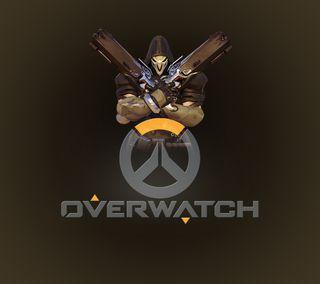 Обои на телефон жнец, темные, оружие, игра, overwatch