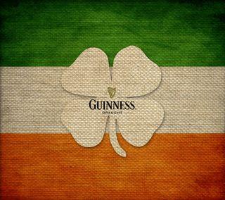 Обои на телефон ирландские, флаг, трилистник, пиво, патрик, guinness, burlap