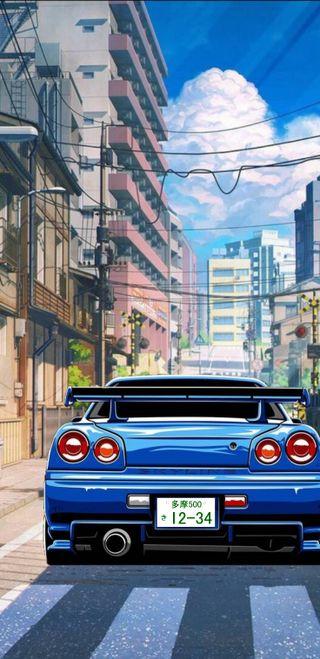 Обои на телефон ниссан, машины, арт, аниме, nissan, nismo, jdm, gtr35, gtr34, gtr, car art, art