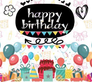 Обои на телефон торт, шары, счастливые, празднование, presents