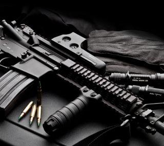 Обои на телефон bullet, counter, m4a1, армия, оружие, винтовка, удар