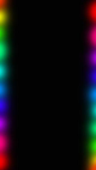 Обои на телефон радуга, красочные, грани