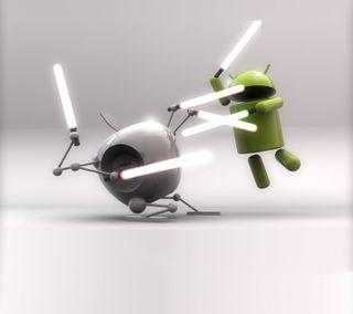 Обои на телефон apple, android jedi, андроид, эпл, звезда, свет, войны, джедай, ситх, сила, сабля