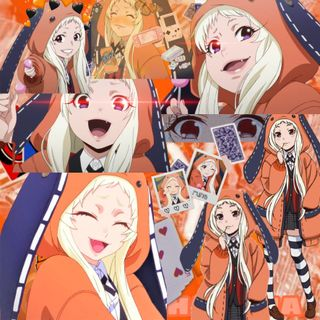 Обои на телефон коллаж, какегуруи, runa yomozuki, runa collage, runa