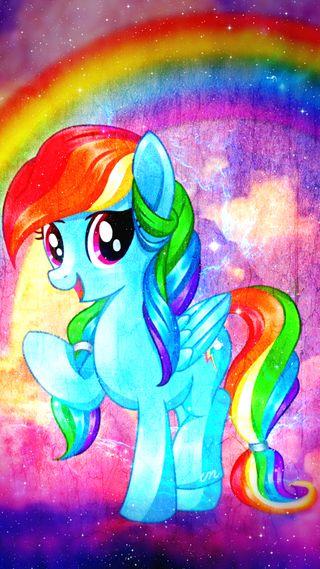 Обои на телефон пони, радуга, неоновые, небо, мой, милые, маленький, красочные, винтаж, vintage rainbowdash, rainbow dash, mlp, clounds
