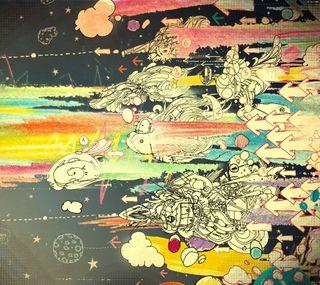 Обои на телефон цифровое, цветные, мультфильмы, мультики, крутые, арт, digital cartoon art, darkdroid, art