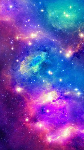 Обои на телефон солнечный, цветные, туманность, темные, красочные, красота, космос, звезды, глубокие, галактика, вселенная, galaxy