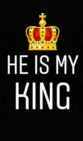 Обои на телефон корона, цитата, трогать, телефон, поговорка, мой, любовь, король, вселенная, беседа, my king, love