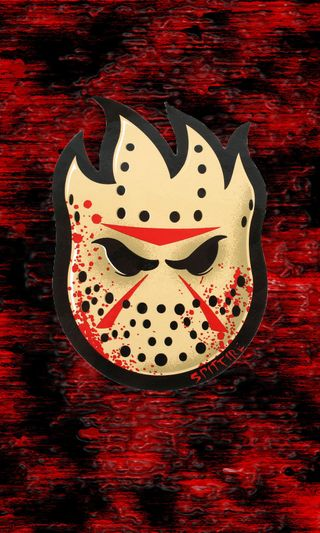 Обои на телефон джейсон, маска, логотипы, voorhees, spitfire