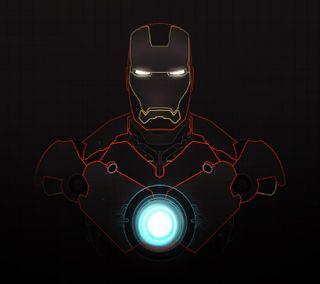 Обои на телефон hq, iron-man, marvel, марвел, железный, старк