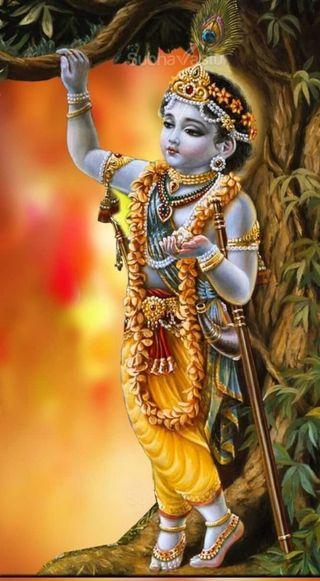 Обои на телефон giridhara, sri krishna, кришна, шри