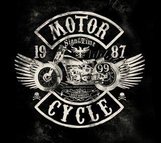 Обои на телефон чоппер, логотипы, motor, motocicleta