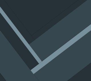 Обои на телефон плоские, синие, серые, материал, абстрактные, material angles bg, blue gray