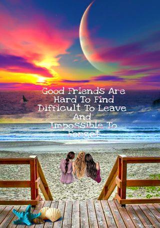 Обои на телефон сон, цитата, пляж, песок, ночь, лучшие, закат, друзья, друг, восход, good friends