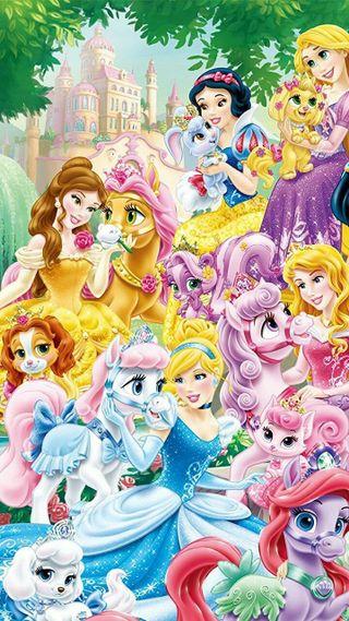 Обои на телефон принцесса, мир, луна, животные, дисней, princesses, disney world