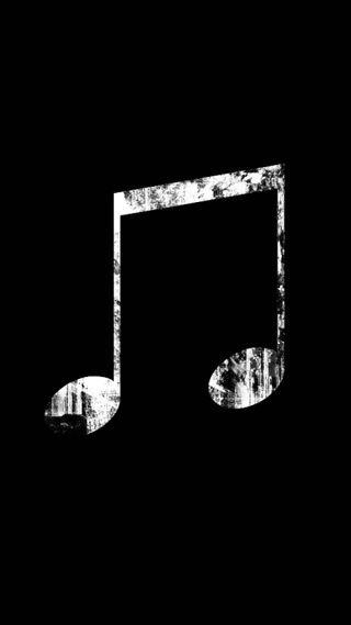 Обои на телефон музыка, tumblr, siyah, nota, muzik, musical