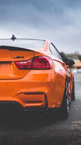 Обои на телефон купе, оранжевые, машины, м4, бмв, автомобили, авто, f82, bmw