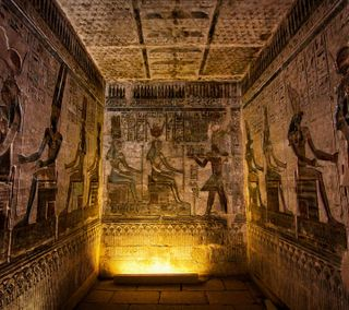 Обои на телефон египет, здания, древний, африка, site, hieroglyphics, ancient chamber