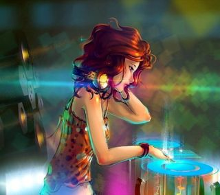 Обои на телефон диджей, фантазия, красота, картина, дизайн, арт, dj beauty, art