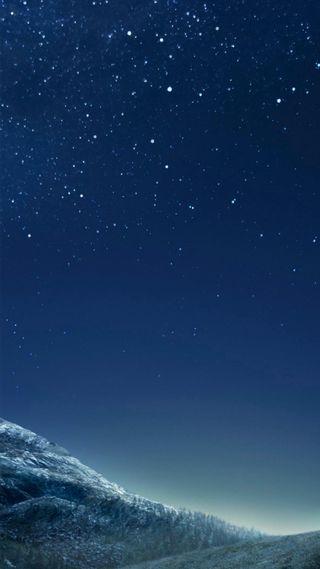 Обои на телефон стандартные, природа, ночь, звезды, галактика, galaxy s8