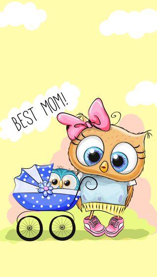 Обои на телефон матери, мама, лучшие, день, best mom