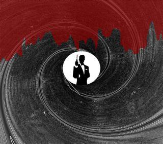 Обои на телефон кровь, фильмы, оружие, джеймс, james bond barrel, james bond, gun barrel, fleming, 007