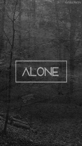 Обои на телефон одиночество, чувствовать