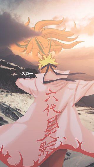 Обои на телефон холмы, узумаки, наруто, курама, горы, аниме, ninetails, naruto x kurama, naruto shippuden, kyuubi, anime edits