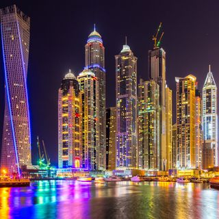 Обои на телефон юнайтед, оаэ, дубай, город, горизонт, башня, арабские, united arab emirates, skyline