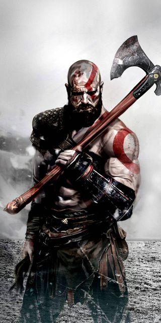 Обои на телефон кратос, война, бог, god of war kratos, god of war