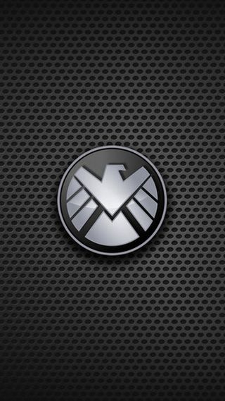 Обои на телефон щит, логотипы