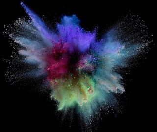 Обои на телефон взрыв, брызги, красочные, арт, абстрактные, art