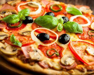 Обои на телефон пицца, еда, fast food, delicious
