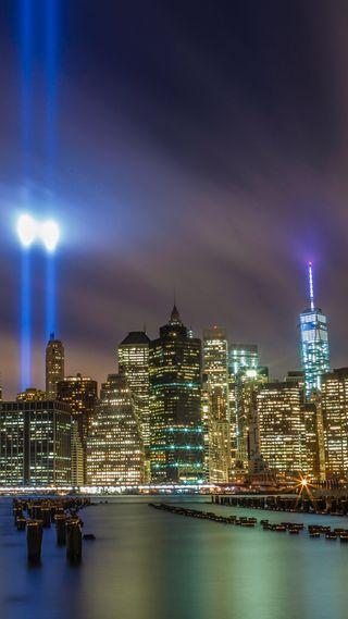 Обои на телефон нью йорк, новый, здания, город, башня, wtc, 9/11