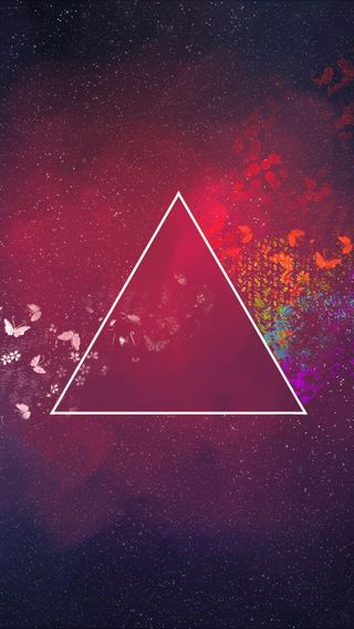 Обои на телефон треугольник, арт, абстрактные, art