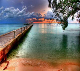 Обои на телефон рокки, приятные, природа, пляж, острова, остров, новый, мост, море, любовь, крутые, love, cayman islands hd, 2012