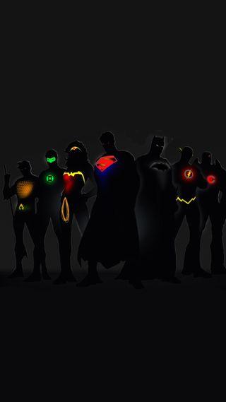 Обои на телефон чудо, супергерои, темные, супермен, справедливость, лига, женщина, бэтмен, блокировка, hd