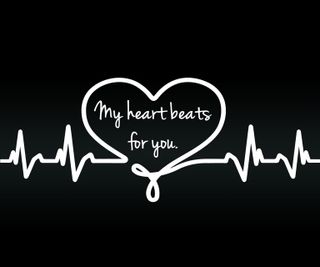 Обои на телефон флирт, цитата, ты, сердце, приятные, поговорка, новый, любовь, знаки, влюблен, love, beats for you, beats