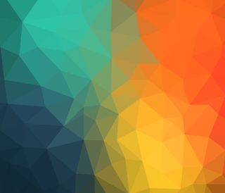 Обои на телефон треугольники, красочные, абстрактные