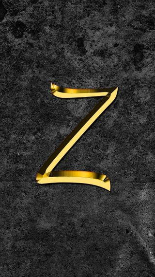 Обои на телефон буквы, z letter