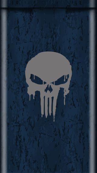 Обои на телефон военно морские, череп, синие, ночь, каратель, камуфляж, грани, вода, 929