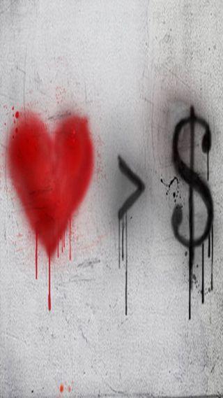 Обои на телефон деньги, любовь, love