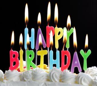 Обои на телефон пожелание, торт, счастливые, свеча, день рождения, birthday cake