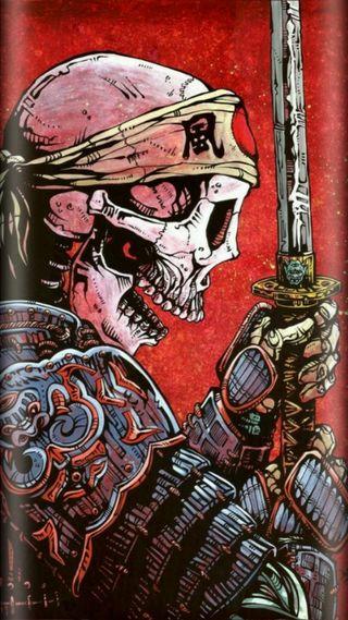 Обои на телефон самурай, череп, фиолетовые, странные, растения, космос, звезды, галактика, арт, samurai skull, pot, galaxy, art, 420